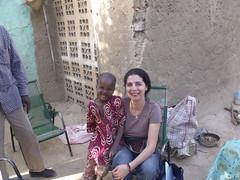 Avec Mahamed, qui ne se fait pas prier pour sourire