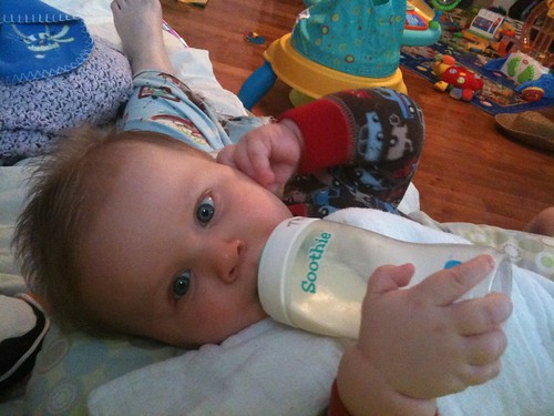 02.26.11 holding his own bottle