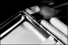 20110226-64-Edit.jpg (Sam Sherbini) Tags: hinge blue white black macro metal spring box cigarette smoke container form shape parisienne