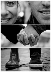 Triptychs of Strangers #4: The Couple I, Montmartre - Paris (adde adesokan) Tags: street travel bridge portrait blackandwhite bw white black paris france love fashion bike pen gum bag photography spain hands frankreich shoes couple triptych bokeh strasse voigtlander voigtlaender hamburg streetphotography bob tire olympus stranger montmartre portrt puzzle sw mann augen schwarzweiss weiss schuhe schwarz santander liebe voigtlnder gummistiefel 25mm triptic ep1 tryptic haare triptychs f095 sacrcur streetphotographer m43 triptychon mft mirrorless triptychons 100strangers 100stranges microfourthirds theblackstar mirrorlesscamera streettogs triptychonsofstrangers triptychsofstrangers