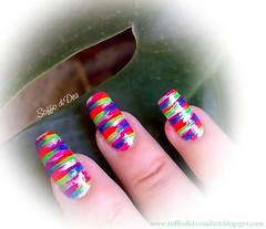 """Cowgirl"" Nail Art"