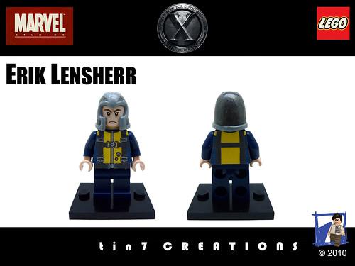 Custom minifig custom minifig Erik Lensherr