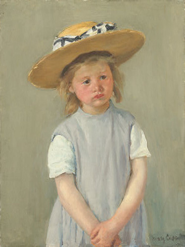 Mary-Cassatt-Child-in-a-Straw-Hat