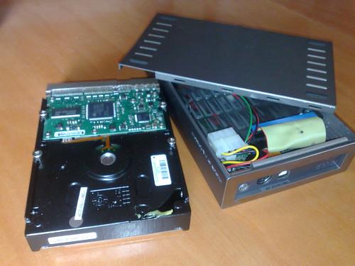 Passant un lacie USB a IDE