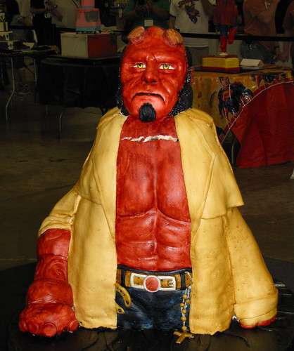 Hellboy is looking tired