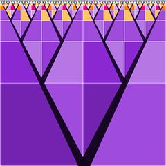 V for Variation (Absolute Chaos) Tags: abstract art geometrico digital triangle arte purple mosaic fraktal mosaico binary fractals proportion artedigital maths géométrie 幾何 mozaic astratta hivemind juliaset pyramiden piramid binario sierpinski simetría geometri symmetri فن selfsimilarity théorieduchaos symmetria симметрия teoriadelcaos settheory هرم binário proporción fraktaali геометрия senidigital selbstähnlichkeit kimtựtháp flickriver कला teoriadosconjuntos fiveprime cantorset perioddoubling 錐體 馬塞克 binaires علمالهندسة 二進制 त्रिकोण iterationen
