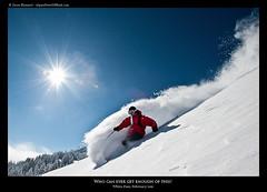 Who can ever get enough of this? (Jason Hummel Photography) Tags: washington powder sunburst whitepass sunstar andymahre whitepassskiarea