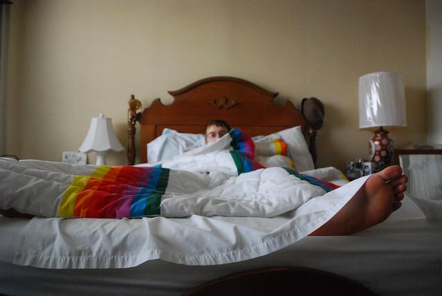 rainbow sheets