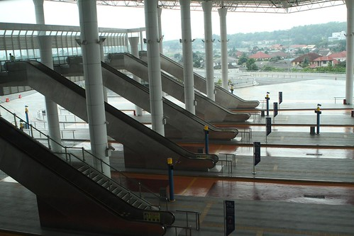 Escalators To Passengers Arrival Hall