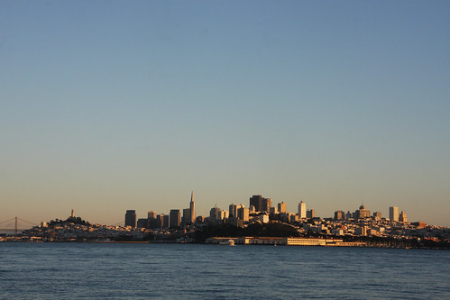 San Francisco Skyline at Golden Hour