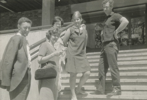 [First Auchmuty Library Staff], the University of Newcastle, Australia - c.1968