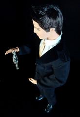 Handmade Barbie silver charm (PamiFashionDolls) Tags: vintage silver doll ken barbie charm swirl ponytail fashionistas