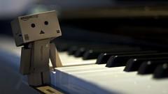 Is this Middle C? (Matthew Huie) Tags: music amazon box c piano cardboard middle yotsuba danbo