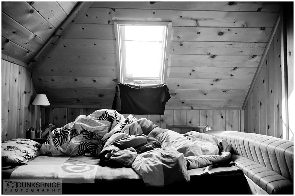 Bed B&W.