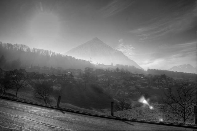 Krattigen Bergblick