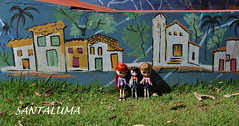 Aisha,Lissha e Iani no parque 2!!