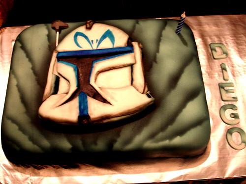 Capitain Rex cake