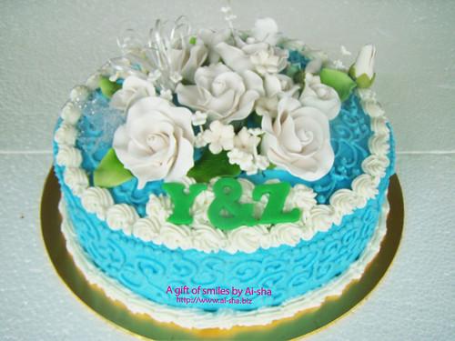 Fondant Cake Aishabiz Puchong Jaya