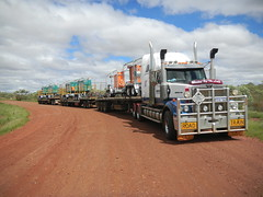Blinded by The Light (dieseljocky) Tags: truck transport australia grange constellation centurion roadtrain sovereign westernstar worldtruck