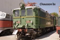 N 153-18  95 (chausson bs) Tags: catalunya 1995 bahn railways ferrocarriles renfe treni cheminsdefer locomotoras ferrocarrils vilanovailageltr locomotores locomotoreselctriques museudelferrocarril srie1000