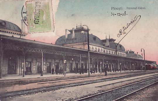 Gara de Sud - 1908