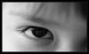Mirame sin timidez (Un rincon para compartir) Tags: eye ojo nikon bn oeil niña tamron 90mm occhio d3000