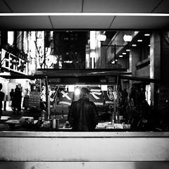 Nikon Select   2011-03-05  19-50-49 (MichelleSimonJadaJana) Tags: street people bw white black japanese tokyo shinjuku documentary lifestyle snaps   nikkor