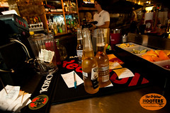 Cool Coronas in a beach bar (originalhooters) Tags: beer bar tampa florida hooters corona service fl bartender serving clearwater hootersgirls originalhooters meetahootersgirl