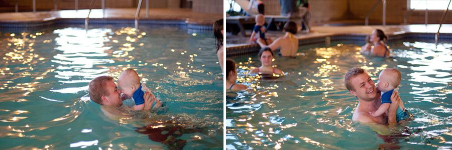Ephram's Swim Class