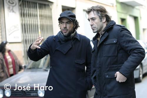 Alejandro González Iñárritu y Javier Bardem