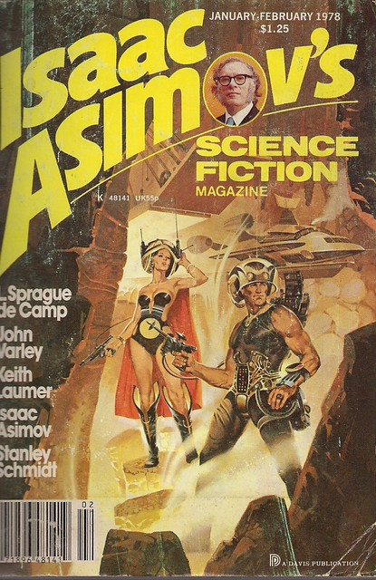 Isaac Asimov's Science Fiction Magazine Jan-Feb 1978