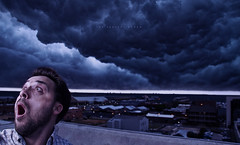 068/365 The Perfect Storm (matthewcoughlin) Tags: sky panorama selfportrait storm clouds thunder darkskies speedlite offcameraflash strobist 430exii canon7d 3652011 2011inphotos