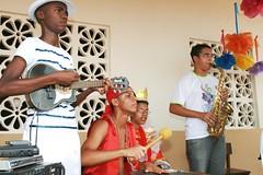 Banda HEN!!! HEN!!! (vandevoern) Tags: brasil fantasia carnaval criana dana canto cultura maranho nordeste mscara aluno leal solus vandevoern