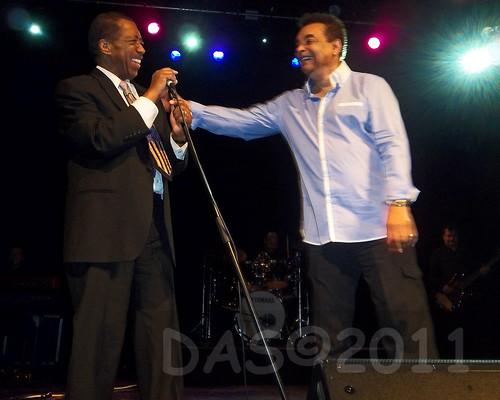 Ben E King & Gary U S Bonds Great American Soulbook tour