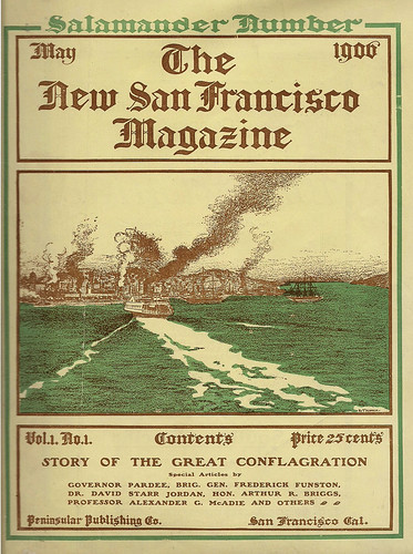 The cover of a magazine published a month after the great 1906 earthquake and fire leveled much of San Francisco. The event prompted a migration to the East Bay, which is just as vulnerable to the movement of fault lines.