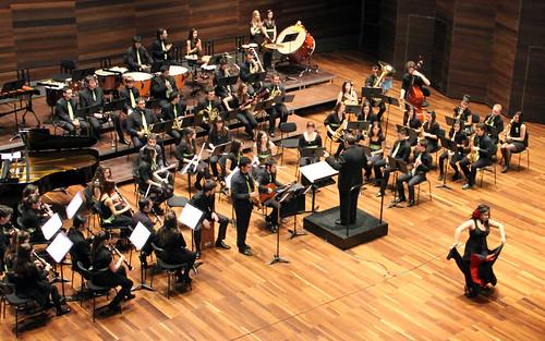 JUVENTUDES MUSICALES DE LEÓN EN JÓVENES EN CONCIERTO - BANDA DE MÚSICA JJMM-ULE - 11.03.11
