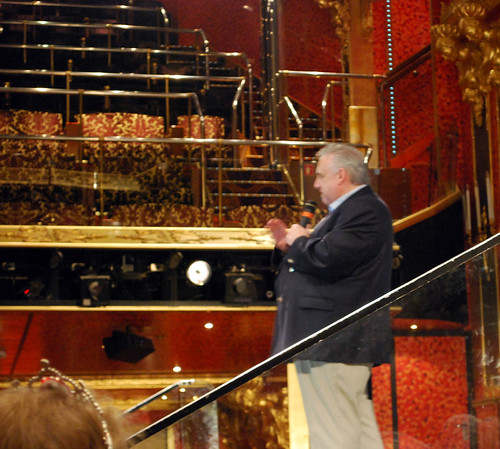 John Heald on the Carnival Glory
