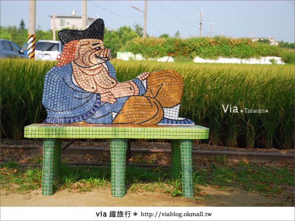 【嘉義景點】新港板頭村交趾剪粘藝術村~到處都是有趣的拍照景點!7