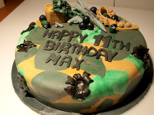 Army Themed Cakes Army Cake