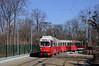 Bis Ende 2008 fuhr an der Prater Hauptallee noch die Linie N (Frederik Buchleitner) Tags: vienna wien tram streetcar e1 bim trambahn 4515 strasenbahn