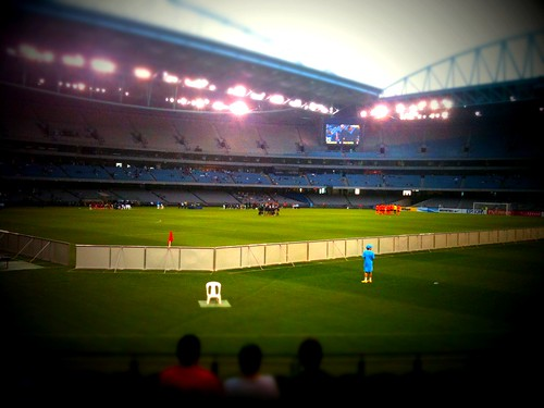 Etihad Stadium Tilt-Shift