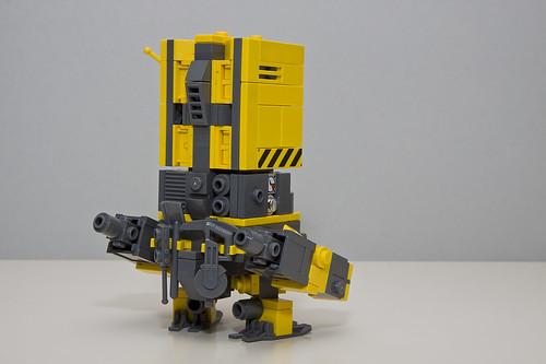 Lego Construction Robot Mech Construction Robot