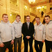 Chris Lyttle MLA with Young Men Talking Project