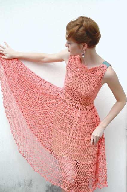 Lolita Crochet Dress 5
