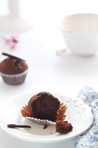 Magdalenes de xocolata