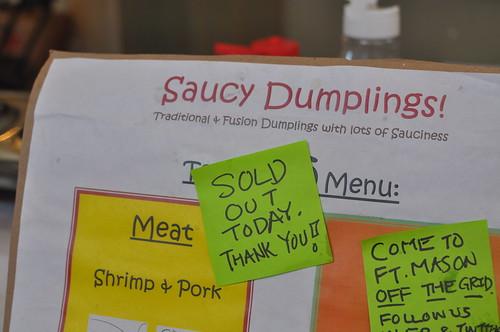 Saucy Dumplings - Sold Out