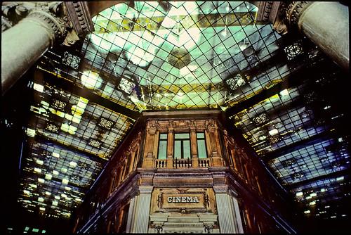Interior of the Galleria Colonna, Roma, 1988 - Copyright by Martin Liebermann