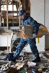 110318-N-9436A-187 (U.S. Pacific Fleet) Tags: japan earthquake tsunami aomori hachinohe misawa nafm navalairfacilitymisawa adamkeenon