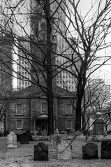 Saint Paul's Church (nosha) Tags: new york city urban bw ny newyork church beautiful beauty photography nikon wideangle bn tokina gotham lightroom d300 2011 nosha newyorknewyorkusa 1116mm nikond300 1116mmf28