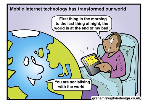 #ISRU11 - Mobile Internet technology has transformed our world